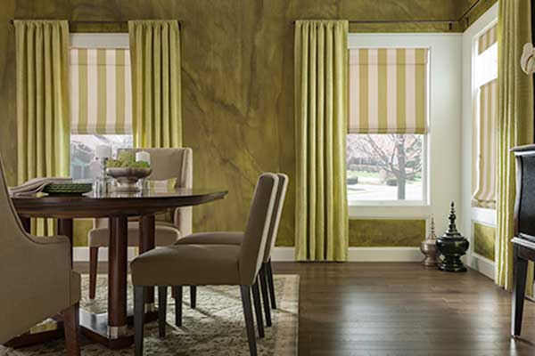 Getting Fancy With Roman Shades