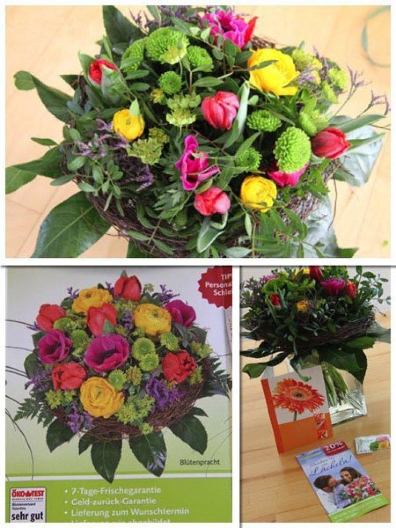 Weltfrauentag und ich bekam einen Blumenstrauß von Valentins.de