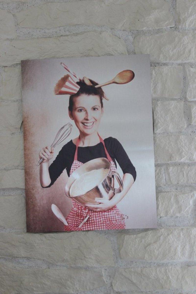 Wanddekoration der anderen Art für meine Küche von Fotofabrik
