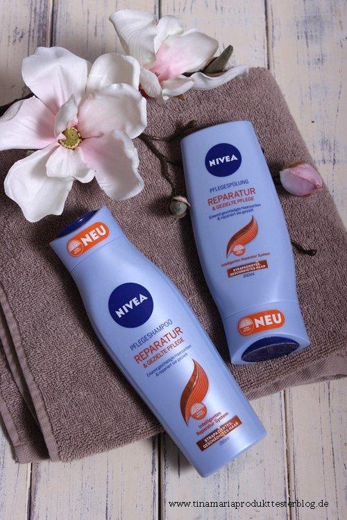NIVEA Produktneuheiten - Reparatur und gezielte Pflege Shampoo und Spülung im Test