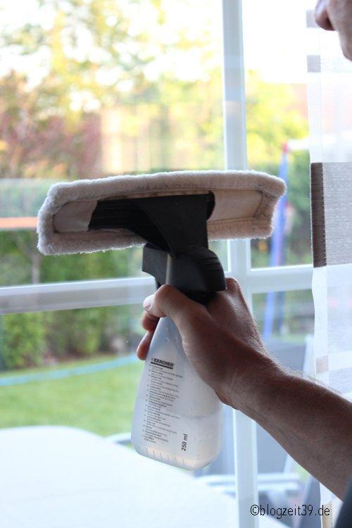 Streifenfreie Fenster - Kärcher Fenstersauger Test