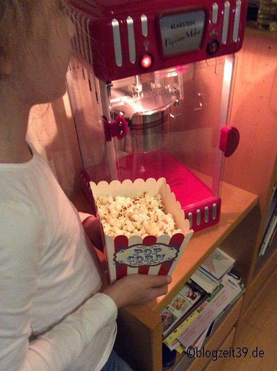 Wir haben gepoppt - Dank Popcornmaschine von Klarstein