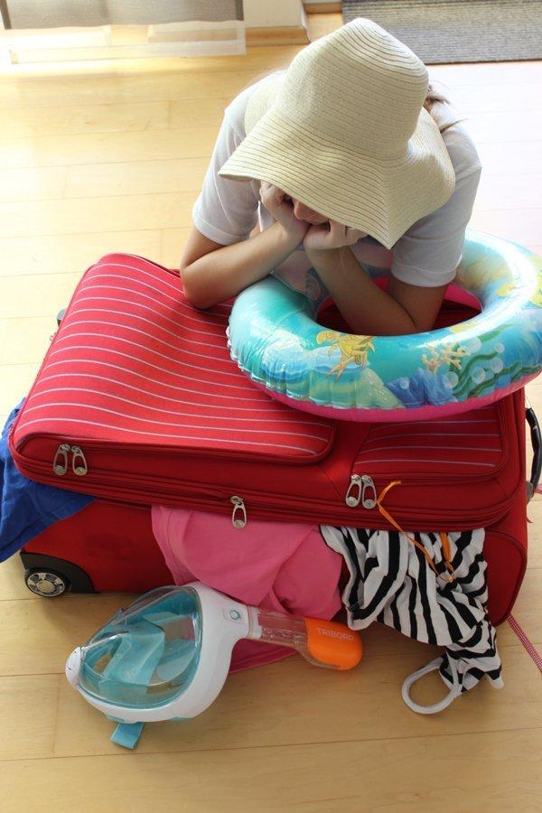 Ich packe meinen Koffer und frage mich ...