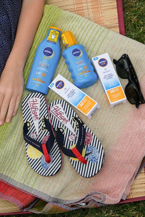 NIVEA SUN Schutz & Bräune mit Anti-Flecken 3