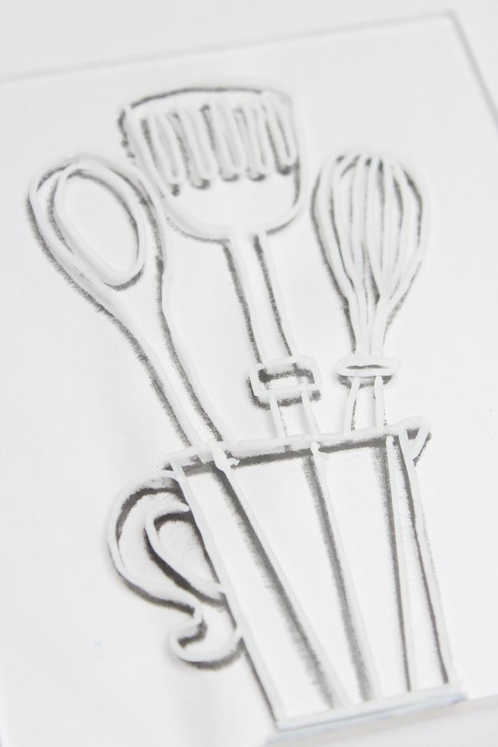DIY-Küchenbehälter aus Acrylglas