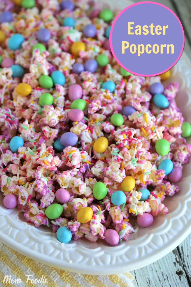 Easter Popcorn : A Fun Easter Treat