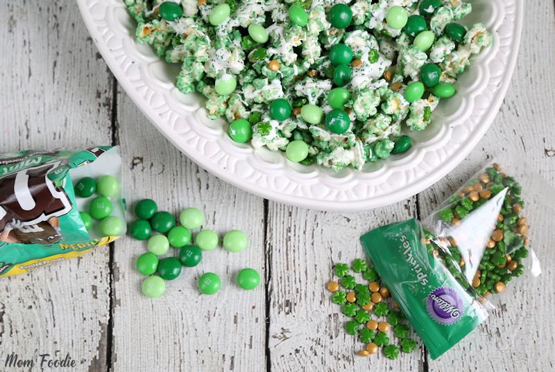 St Patricks Day Popcorn Recipe
