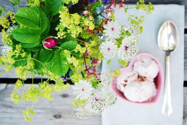 jordgubbsglass