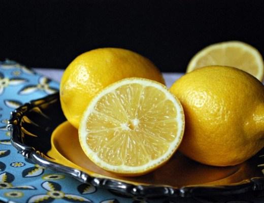 citronsås