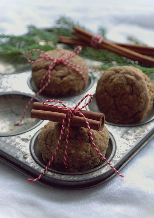 glutenfri pepparkaksmuffins