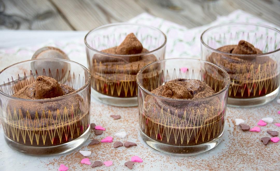 chokladmousse snabb och enkel dessert