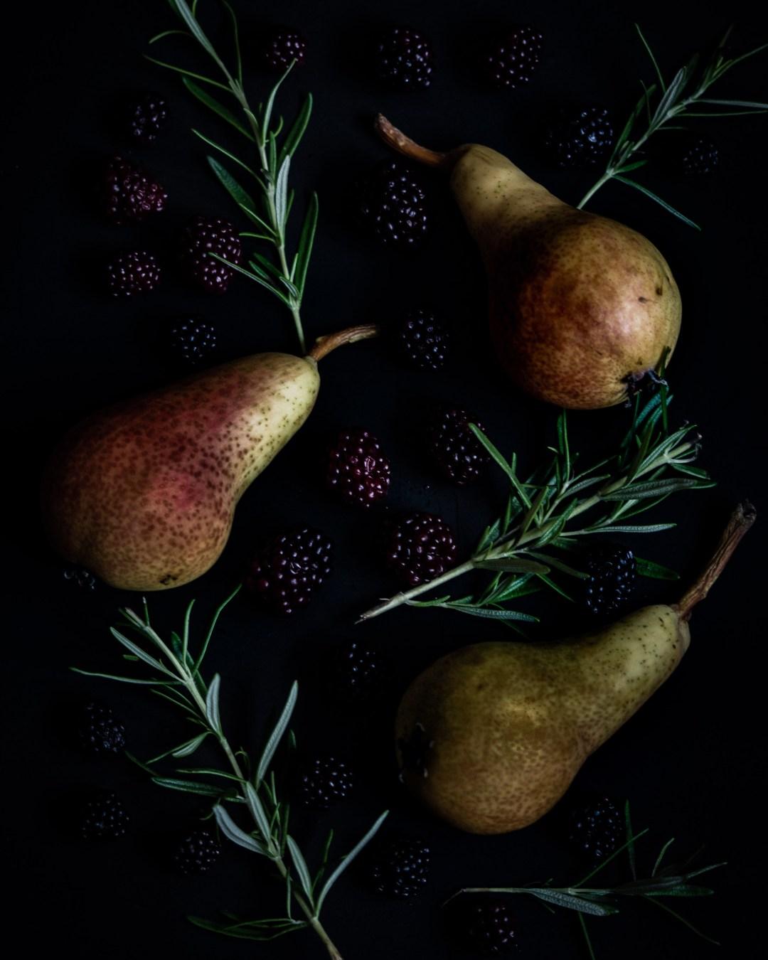 päron och björnbär