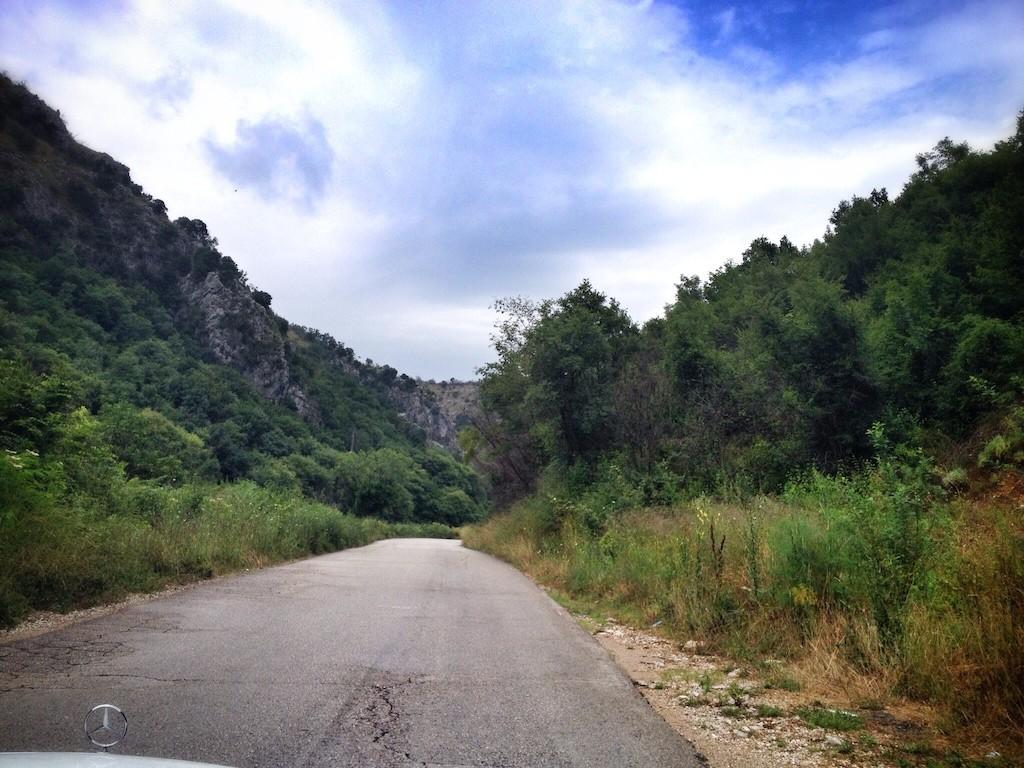 Shady Road Ulcinj Montenegro © The Blonde Gypsy