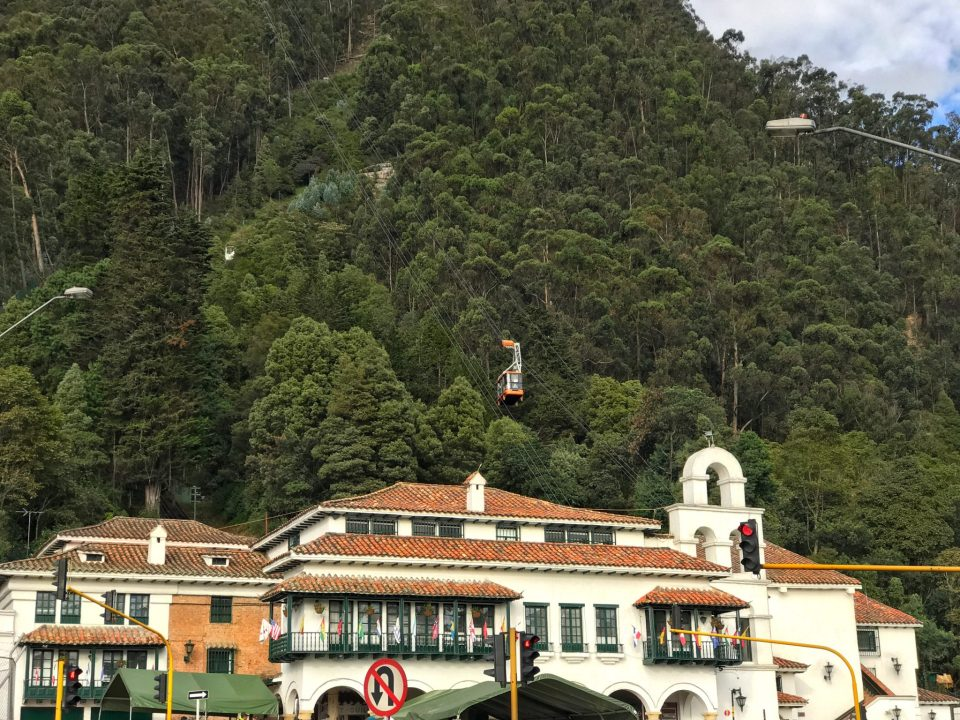 Funicular to the Mount Monserrate
