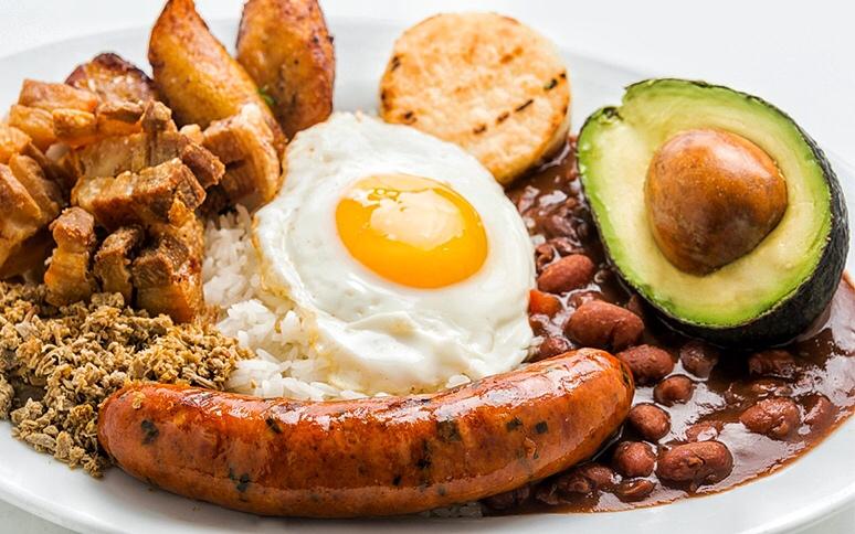 Кухня Колумбии. Бандеха Паиса