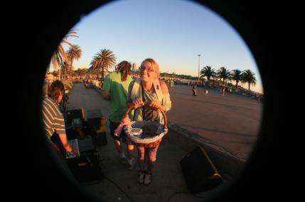 Brownie girl; Montevideo, Uruguay