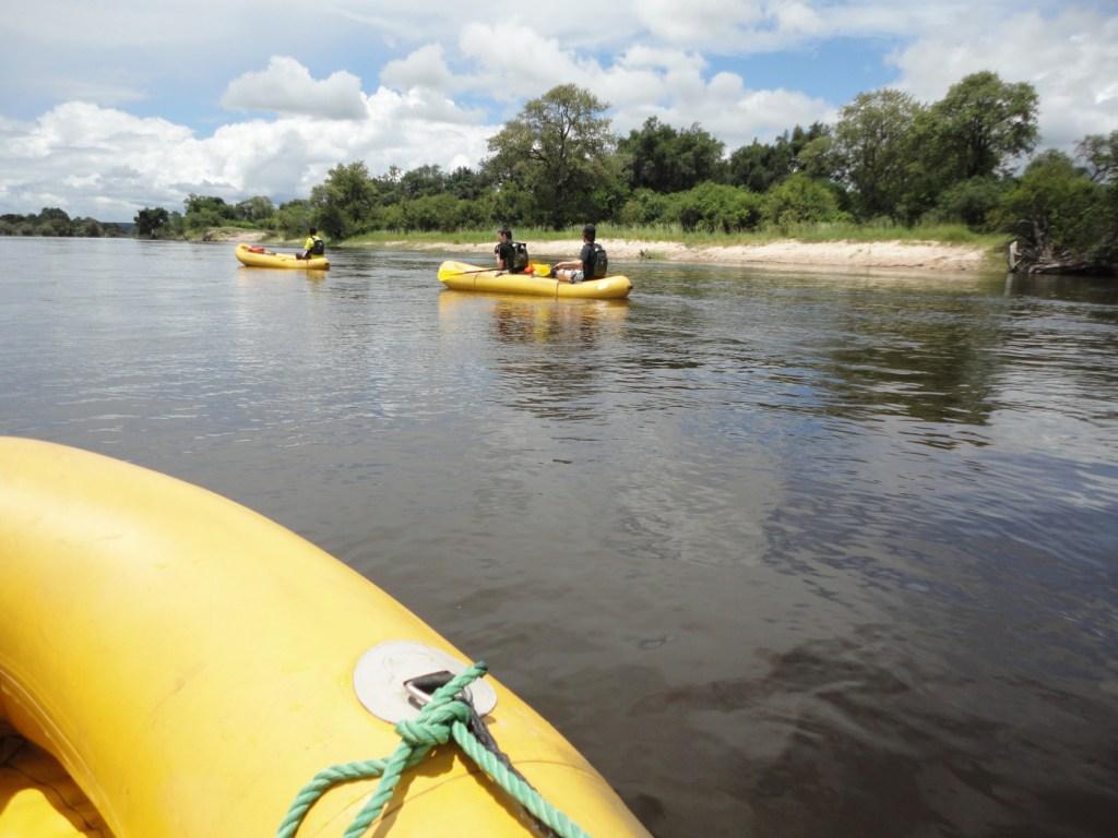 """""""Tomorrow I fly to Zambia to kayak down the Zambezi…"""""""