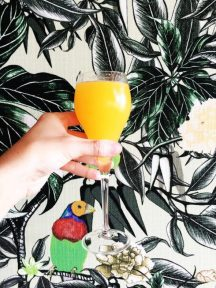 The perfect end to the week, Bellini Sundays at Darling & Co.
