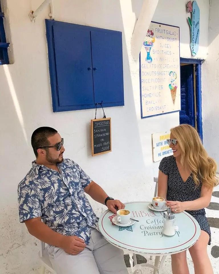 mykonos corner cafe