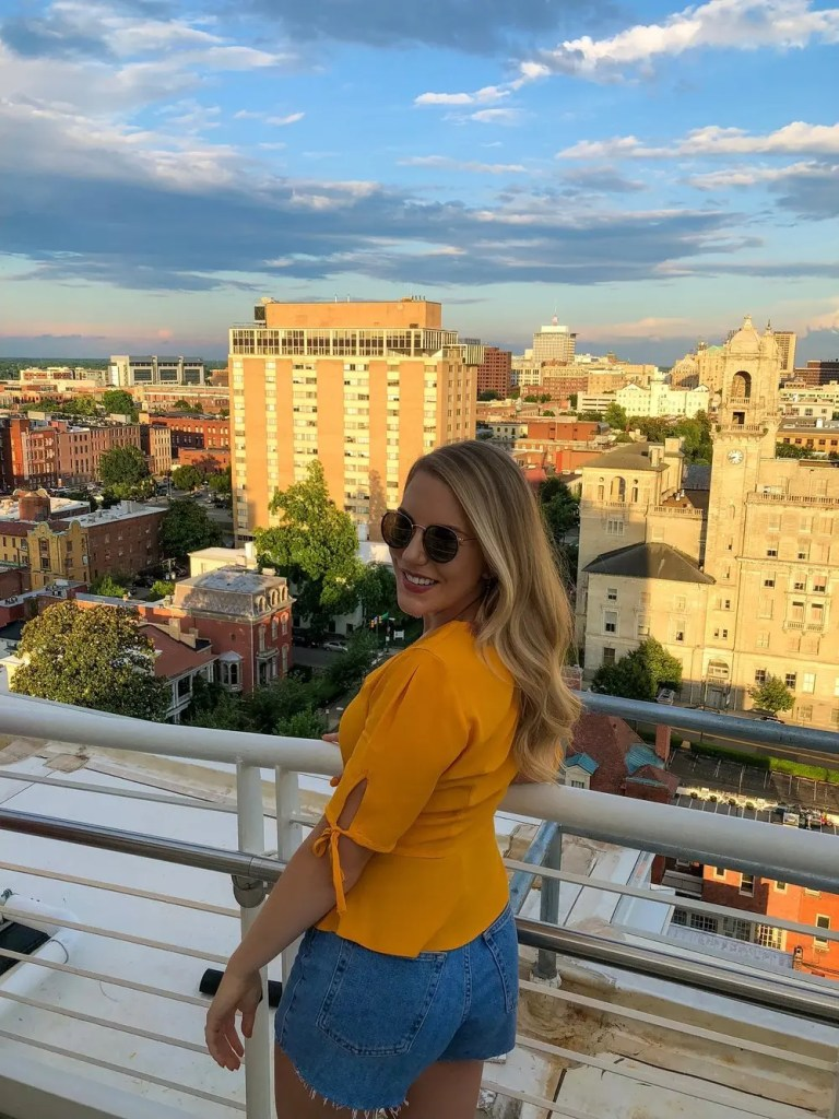 visitor's guide to richmond - rooftop bar