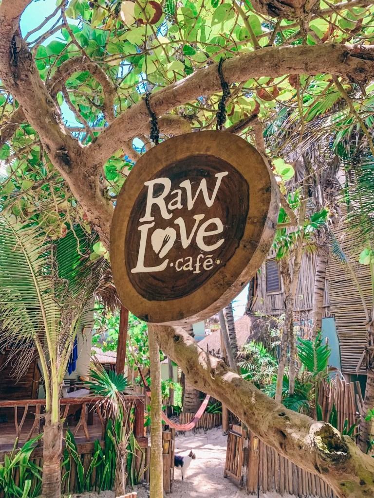 tulum mexico - raw love cafe
