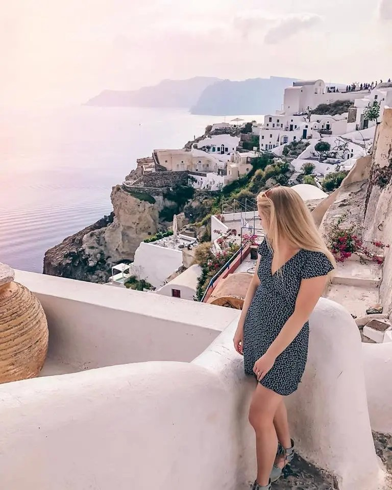 top 10 travel essentials - santorini, greece