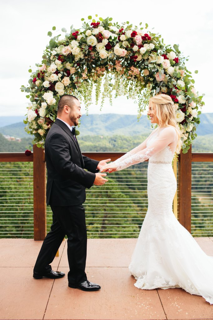 wedding photos part 1 - first look
