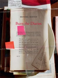 Moyra Davey, Burn the Diaries