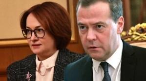 Медведев и Набиуллина