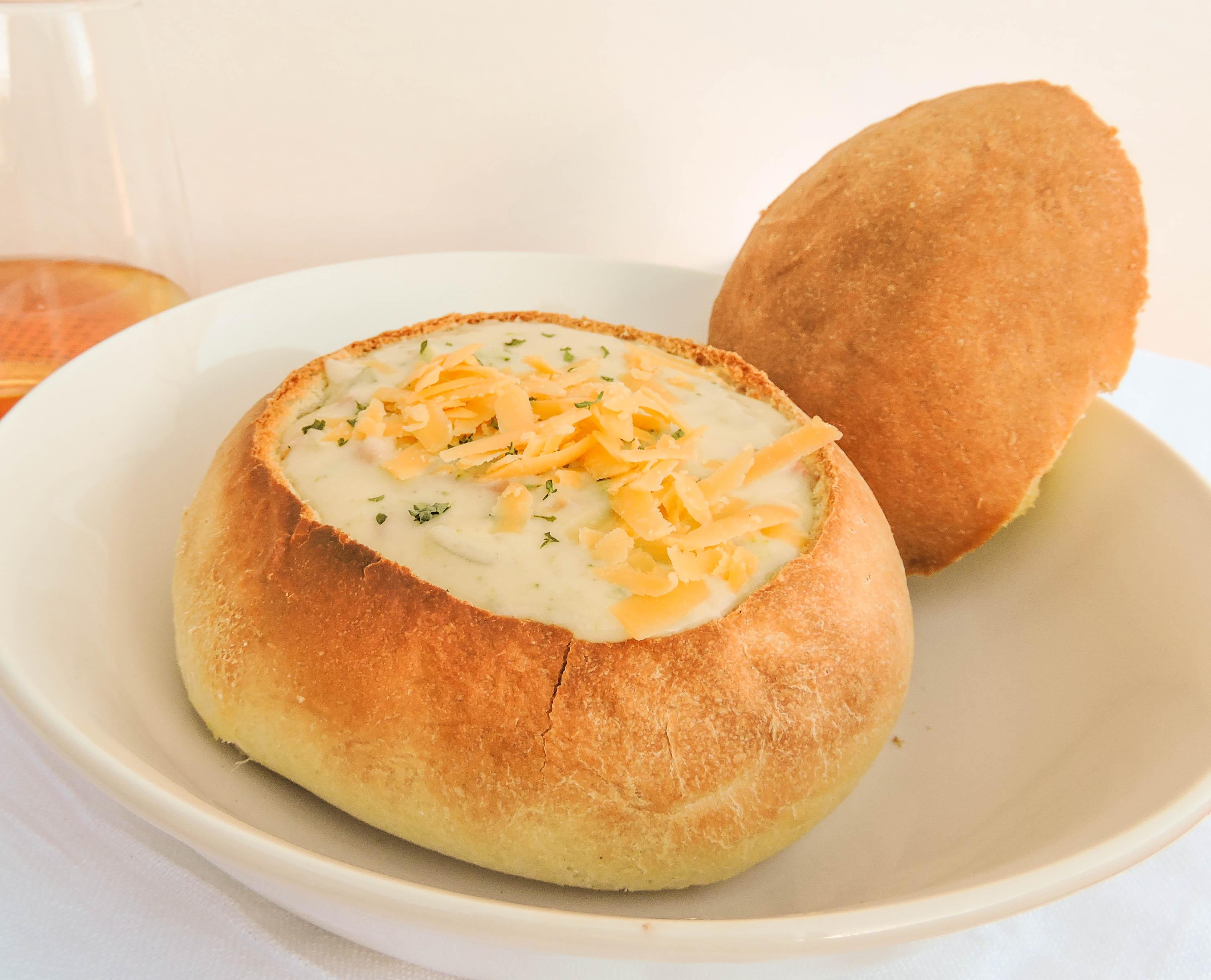 Bread Bowls Recipe  Dishmaps