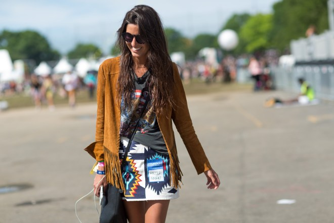 Governors Ball Music Festival 2015 - street style 1