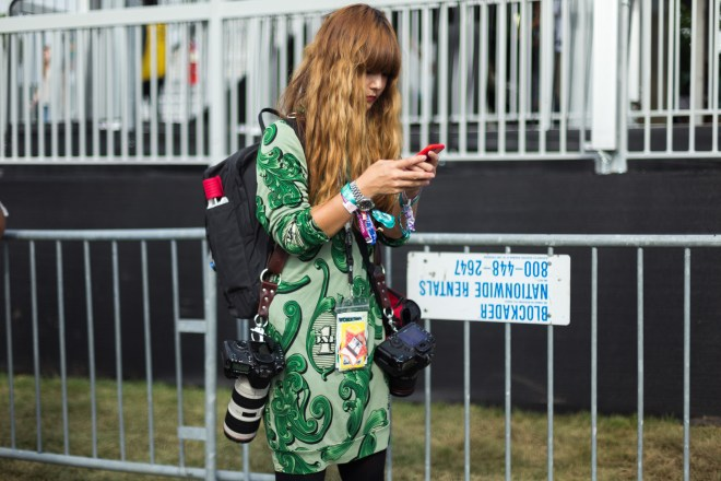 Governors Ball Music Festival 2015 - street style