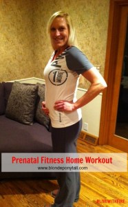 Prenatal Fitness Home Workout
