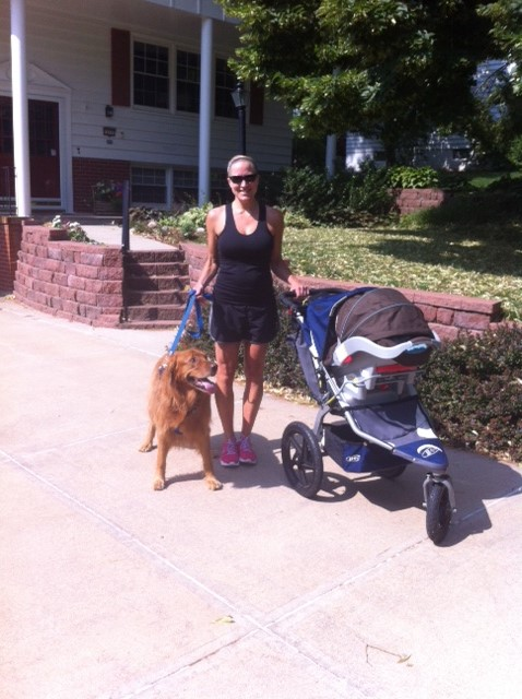 BOB stroller with Cooper