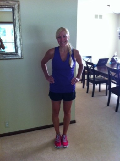 Reebok tank top and crossfit shorts_3