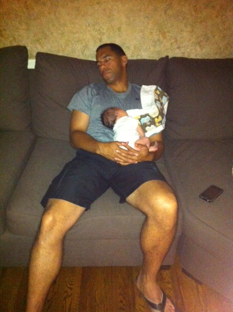 daddy and baby sleeping_1