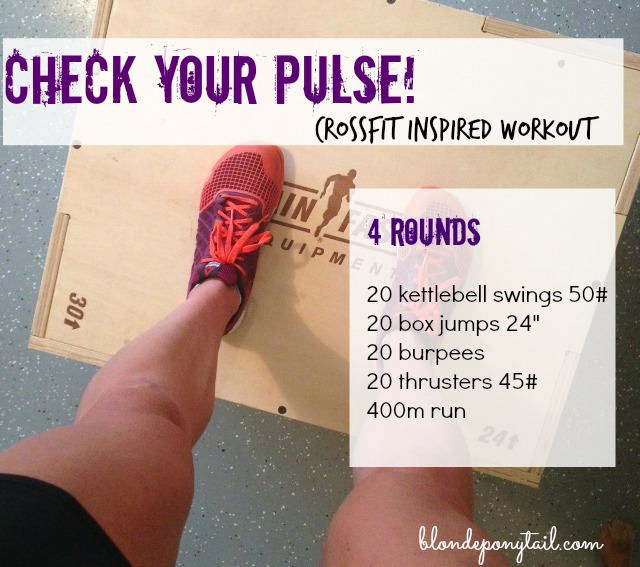 check your pulse wod