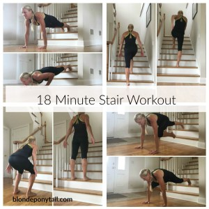 18 Minute Stair Workout