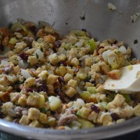 Sage, Sausage and Apple Stuffing