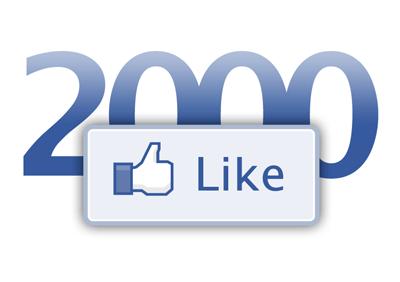 celebrating 2000 facebook likes