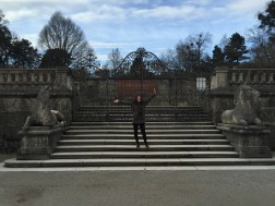 The singing steps