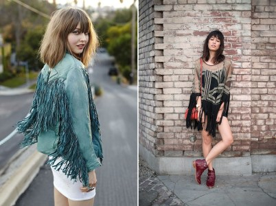 Spring 2014 Fashion Trends - Fringe