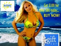 Blondi Beach Gift Card