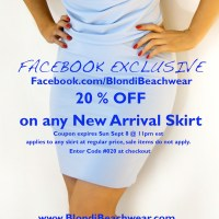 Blondi Beachwear New Arrival Skirts Facebook Exclusive