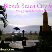 City Spot: {Ocean Manor} Breakfast On The Beach