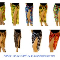 BLONDi Beachwear: New Pareo Collection