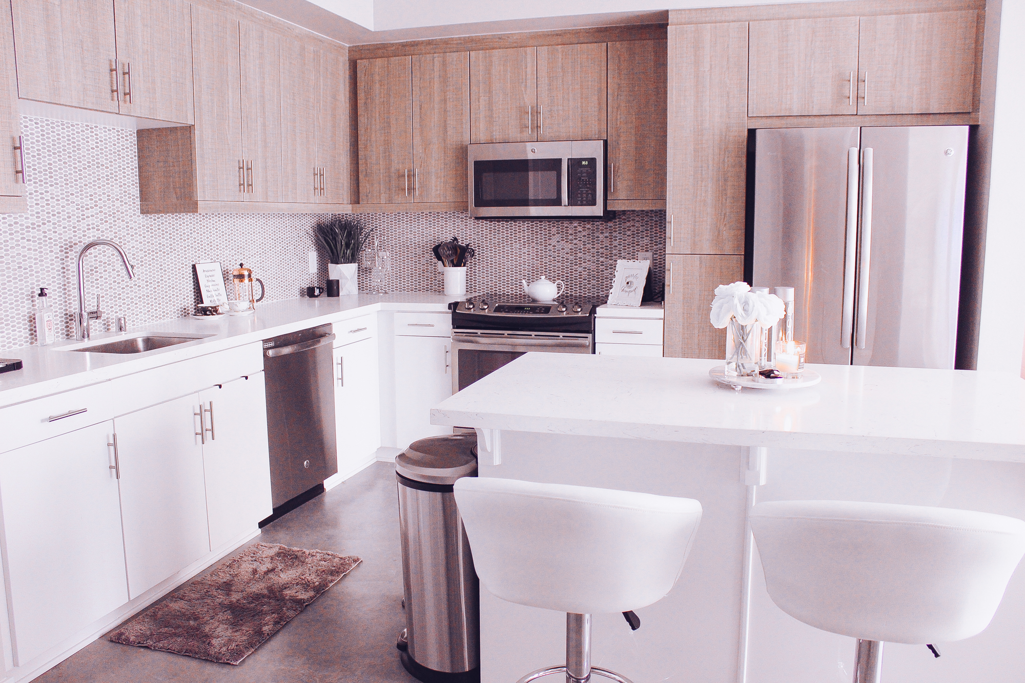 marble kitchen accessories island with shelves my white and neutral