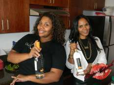 Chef Kim & Ms. Shoe Lounge ATL herself