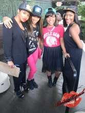 Some of the Hustle Gang hostesses