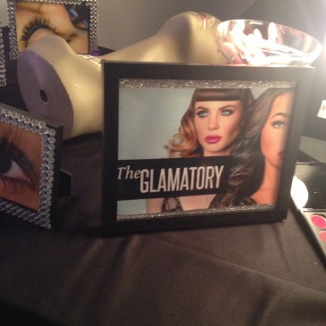 My favorite spot during the event! The Beauty Bar with The Glamatory! I got some gorgeous new lipsticks!